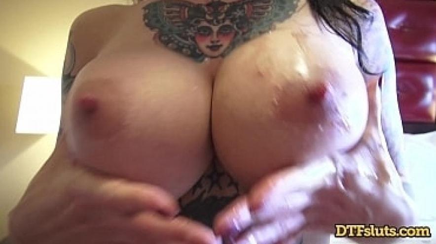 Dollie Darko Shows Off Her New Boobs