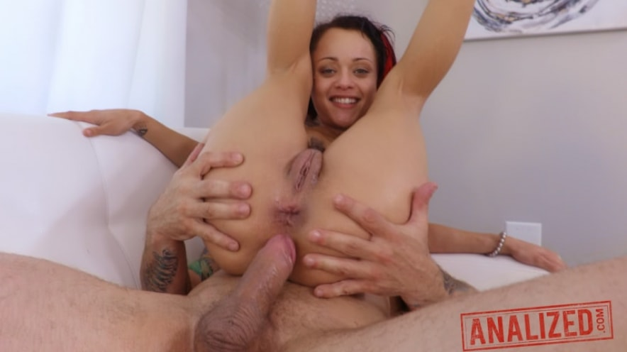 Holly Hendrix's Rough Anal Day Dream