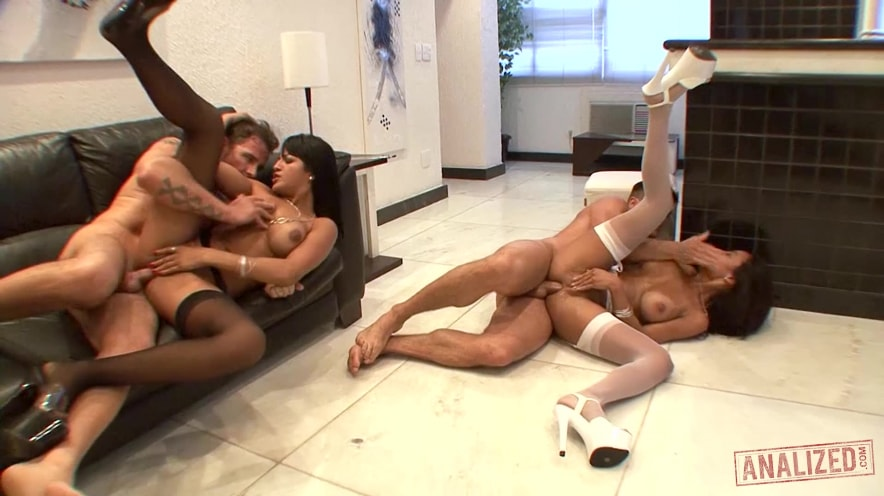 Amy Castro And Belinha Are Brazilian Anal Whores