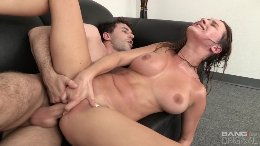 Ashley Adams Is Totally Destroyed By James Deen