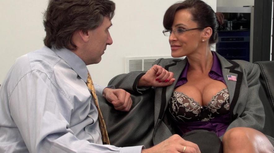 Lisa Ann Gets Slutty During Her Job Interview